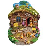 Cobble Hill Puzzles Cobble Hill Rabbit's House Floor Puzzle 24pcs