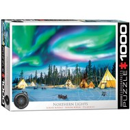 Eurographics Eurographics Northern Lights, Yellowknife Puzzle 1000pcs