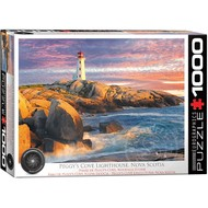 Eurographics Eurographics Peggy's Cove Lighthouse, Nova Scotia Puzzle 1000pcs