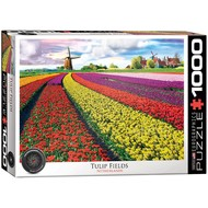 Eurographics Eurographics Tulip Fields, Netherlands Puzzle 1000pcs