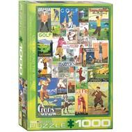 Eurographics Eurographics Golf Around the World Puzzle 1000pcs