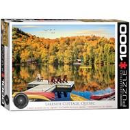 Eurographics Eurographics Lakeside Cottage, Quebec Puzzle 1000pcs