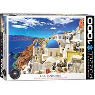Eurographics Eurographics Oia, Santorini Greece Puzzle 1000pcs