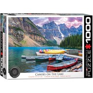 Eurographics Eurographics Canoes on the Lake Puzzle 1000pcs
