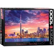 Eurographics Eurographics Toronto Skyline Puzzle 1000pcs
