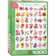 Eurographics Eurographics The Language of Flowers Puzzle 1000pcs