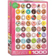 Eurographics Eurographics Donuts Tops - Sweet Collection Puzzle 1000pcs