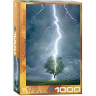 Eurographics Eurographics Lightning Striking Tree Puzzle 1000pcs