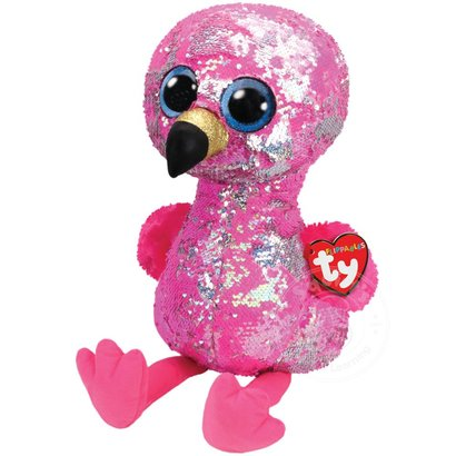 TY Beanie Boos Flippables Sequin Pinky Lrg - Squirt s Toys   Learning Co 4500f0286b58