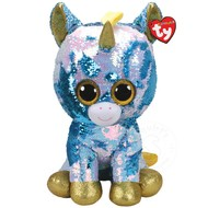 TY TY Beanie Boos Flippables Sequin Dazzle Lrg