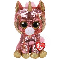TY TY Beanie Boos Flippables Sequin Sunset Med