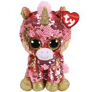 TY TY Beanie Boos Flippables Sequin Sunset Reg