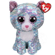 TY TY Beanie Boos Flippables Sequin Whimsy Med