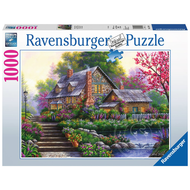 Ravensburger Ravensburger Romantic Cottage Puzzle 1000pcs