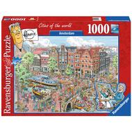 Ravensburger Ravensburger Amsterdam Puzzle 1000pcs