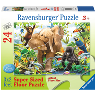 Ravensburger Ravensburger Jungle Juniors Floor Puzzle 24pcs