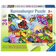 Ravensburger Ravensburger Cute Bugs Floor Puzzle 24pcs