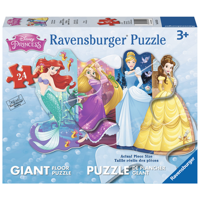 d5283487f95b Ravensburger Disney Princess: Pretty Princesses Glitter Floor Puzzle ...