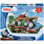 Ravensburger Ravensburger Thomas & Friends: Thomas' World Shaped Floor Puzzle 24pcs