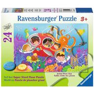 Ravensburger Ravensburger Deep Diving Friends Floor Puzzle 24pcs
