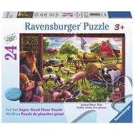 Ravensburger Ravensburger Animals of Bells Farm Floor Puzzle 24pcs