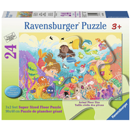 Ravensburger Ravensburger Splashing Mermaids Floor Puzzle 24pcs