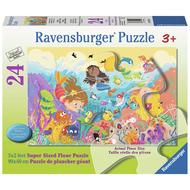Ravensburger Ravensburger Splashing Mermaids Floor Puzzle 24pcs