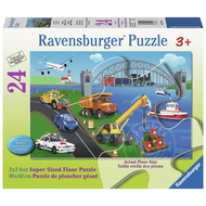 Ravensburger Ravensburger A Day on the Job Floor Puzzle 24pcs
