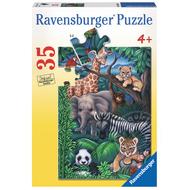 Ravensburger Ravensburger Animal Kingdom Puzzle 35pcs