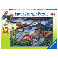 Ravensburger Ravensburger Dinosaur Playground Puzzle 35pcs