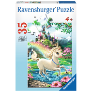 Ravensburger Ravensburger Unicorn Castle Puzzle 35pcs