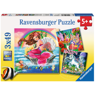 Ravensburger Ravensburger Fantasy Friends Puzzle 3 x 49pcs