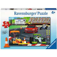 Ravensburger Ravensburger Day at the Races Puzzle 60pcs