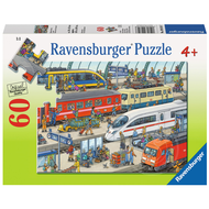 Ravensburger Ravensburger Railway Station Puzzle 60pcs