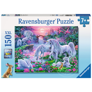 Ravensburger Ravensburger Unicorns in the Sunset Glow Puzzle 150pcs