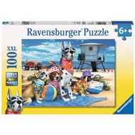 Ravensburger Ravensburger No Dogs on the Beach Puzzle 100pcs XXL