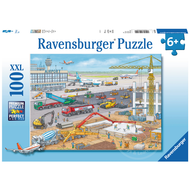 Ravensburger Ravensburger Construction at the Airport Puzzle 100pcs XXL