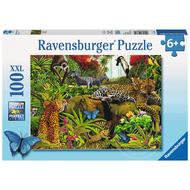 Ravensburger Ravensburger Wild Jungle Puzzle 100pcs XXL