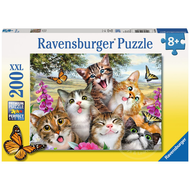 Ravensburger Ravensburger Friendly Felines Puzzle 200pcs XXL