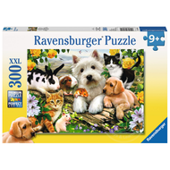 Ravensburger Ravensburger Happy Animal Buddies Puzzle 300pcs XXL