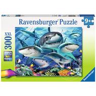 Ravensburger Ravensburger Smiling Sharks Puzzle 300pcs XXL