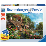 Ravensburger Ravensburger Cottage on a Lake Large Format Puzzle 300pcs
