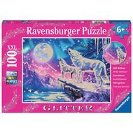 Ravensburger Ravensburger Twilight Howl Glitter Puzzle 100pcs XXL