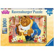 Ravensburger Ravensburger Disney Princess: Belle & Beast Puzzle 100pcs XXL