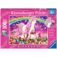 Ravensburger Ravensburger Horse Dream Glitter Puzzle 100pcs XXL