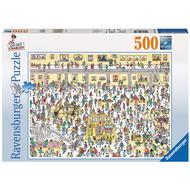 Ravensburger Ravensburger Où est Charlie?: Charlie au Musee Puzzle 500pcs (Where's Waldo?) _