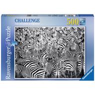 Ravensburger Ravensburger Zebra Challenge, Challenge Series Puzzle 500pcs