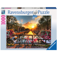Ravensburger Ravensburger Bicycles in Amsterdam Puzzle 1000pcs