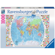 Ravensburger Ravensburger Political World Map Puzzle 1000pcs