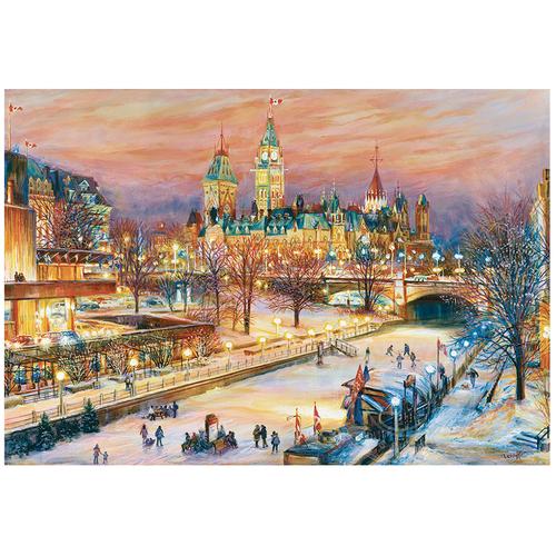Ravensburger Ravensburger Ottawa Winterlude Festival Puzzle 1000pcs